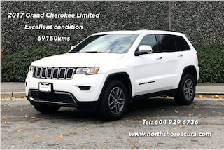 2017 Jeep Grand Cherokee 4X4 Limited No Accidents, Leather, Rearview Camera, Ro SUV