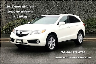 2015 Acura RDX Tech at No Accidents, Navigation SUV