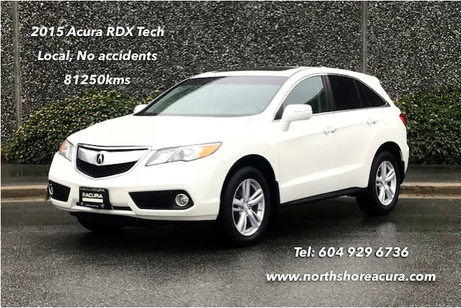2015 Acura RDX Tech at *Acura Certified* SUV
