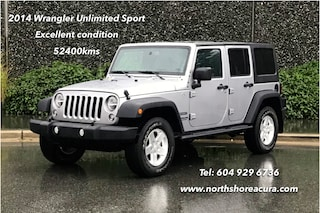 2014 Jeep Wrangler Unlimited Sport Low Kms SUV