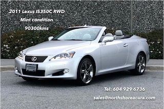 2011 LEXUS IS350 RWD 6A Hard Top, Mint Condition, All Options Convertible