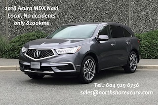 2018 Acura MDX Navi, No accidents, Ultra Low Kms SUV