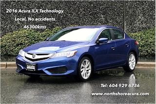 2016 Acura ILX Technology *Acura Certified* Sedan