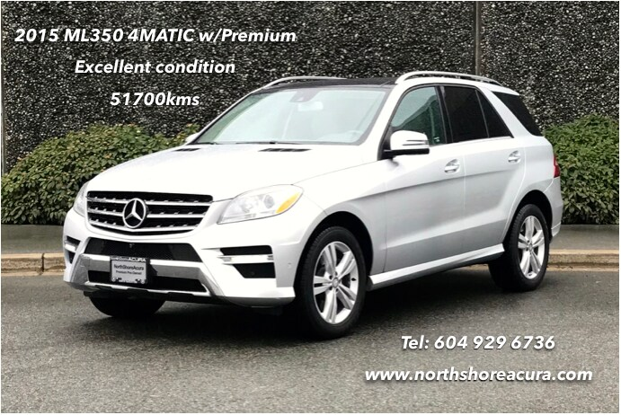 2014 Mercedes-Benz ML350 4matic Navi, Roof, Low Kms SUV