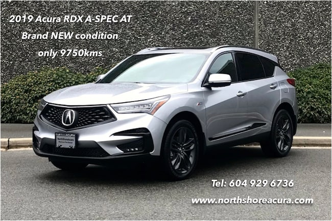 2019 Acura RDX A-Spec at Ultra Low Kms, w/Roof Rails, Like NEW SUV