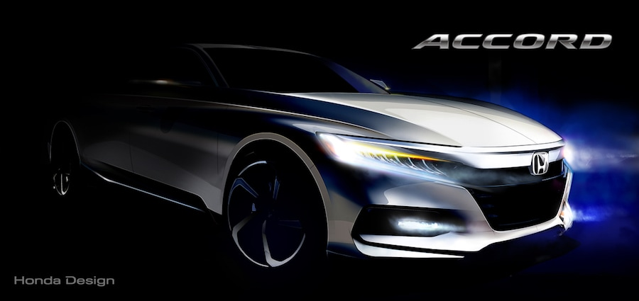 10th generation Honda Accord concept sketch