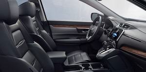 interior of the 2017 Honda CR-V