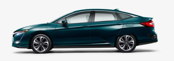 2018 Honda Clarity Plug-In Hybrid side profile