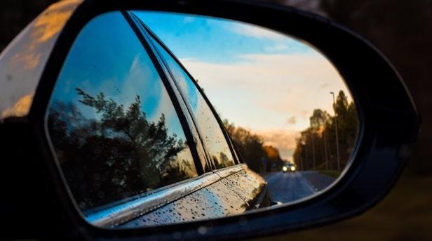 car window near Roslyn