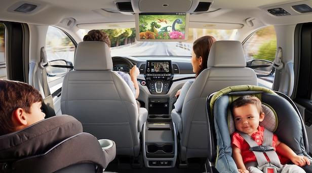 2019 Honda Odyssey Entertainment