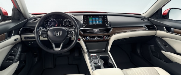 2018 Honda Accord dashboard