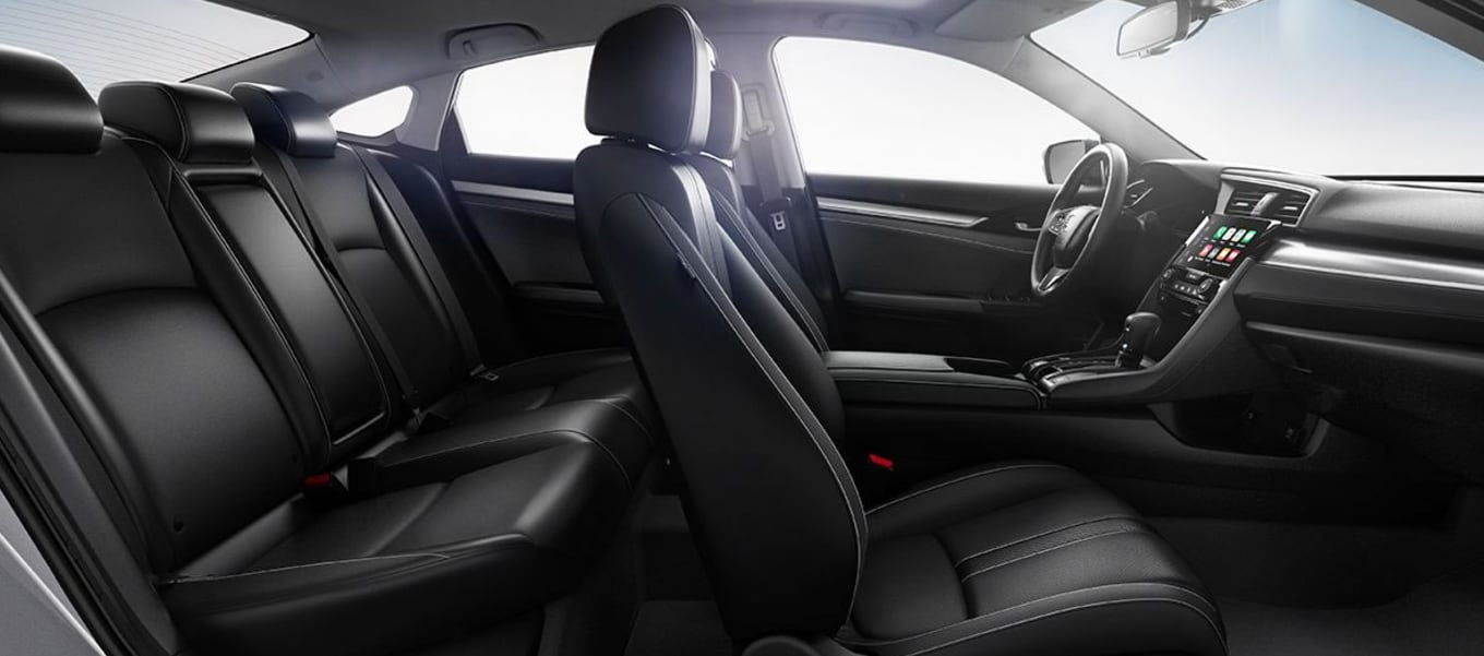 interior of the 2017 Honda Civic Sedan