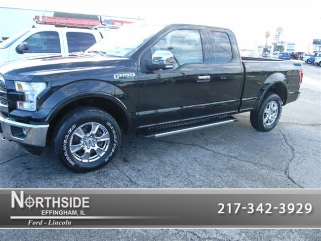 Used 2015 Ford F-150 Lariat Truck SuperCab Styleside for sale in Effingham IL