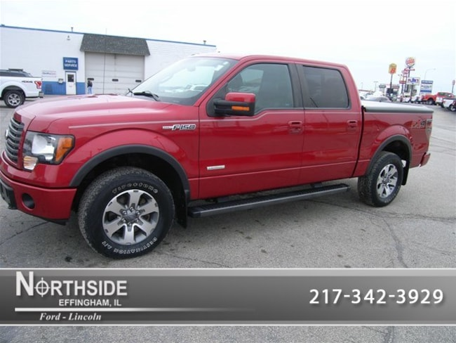 Used 2012 Ford F-150 FX4 Truck SuperCrew Cab for sale in Effingham IL