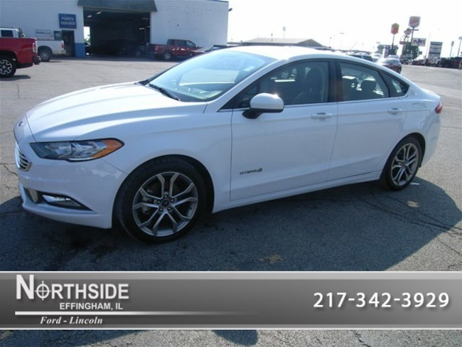 Ford Fusion Hybrid For Sale >> Used 2017 Ford Fusion Hybrid For Sale Effingham Il