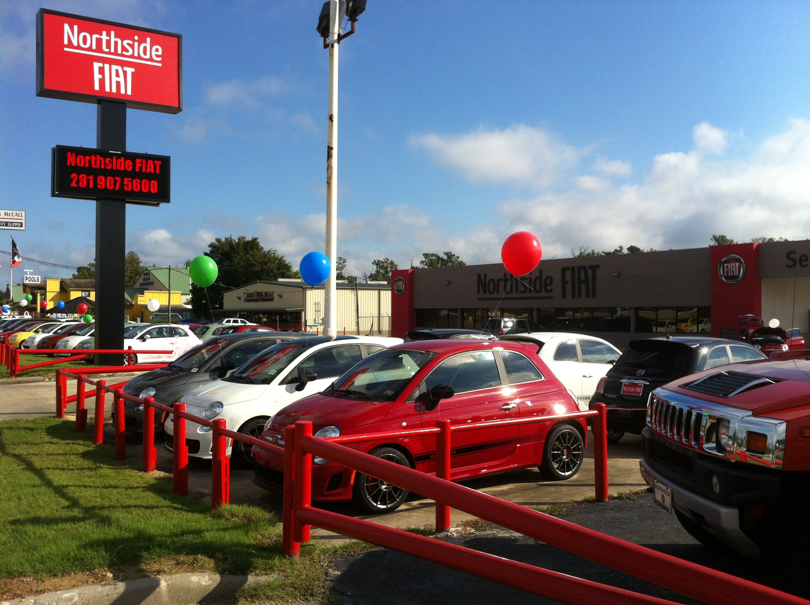 Northside FIAT Of Houston New FIAT Dealership In Spring TX - Where is the nearest fiat dealership