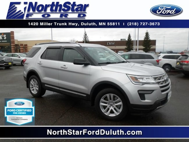 Certified Used 2018 Ford Explorer XLT SUV in St. Louis County