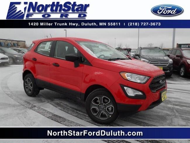 New 2018 Ford EcoSport S SUV for sale near Esko, MN