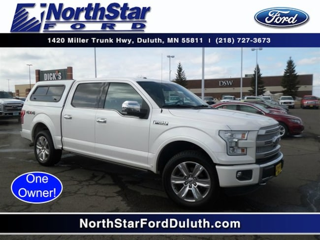 Used 2015 Ford F-150 Platinum Truck in St. Louis County