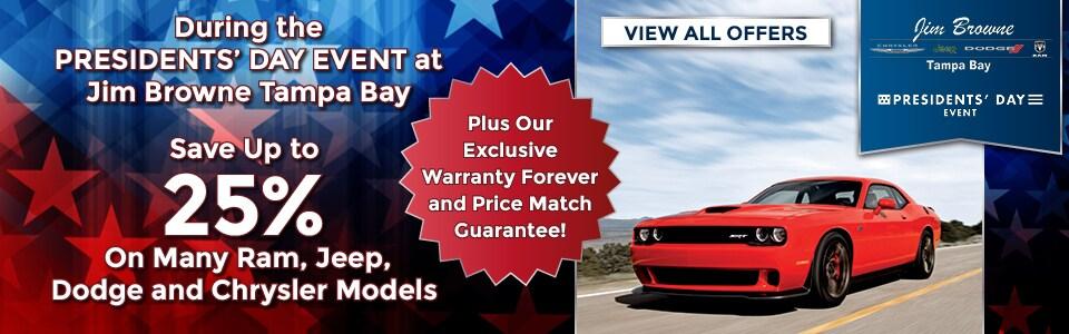 Jim Browne Dodge >> Jeep Dodge Ram & Chrysler Tampa Dealer | Jim Browne
