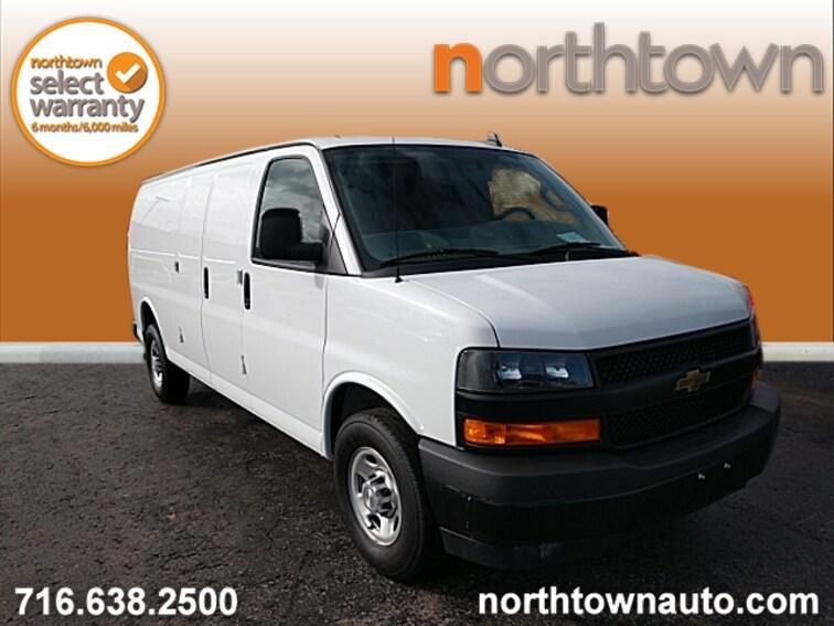 Used 2018 Chevrolet Express 2500 Work Van Van Extended Cargo Van DR610 for sale in Amherst, NY