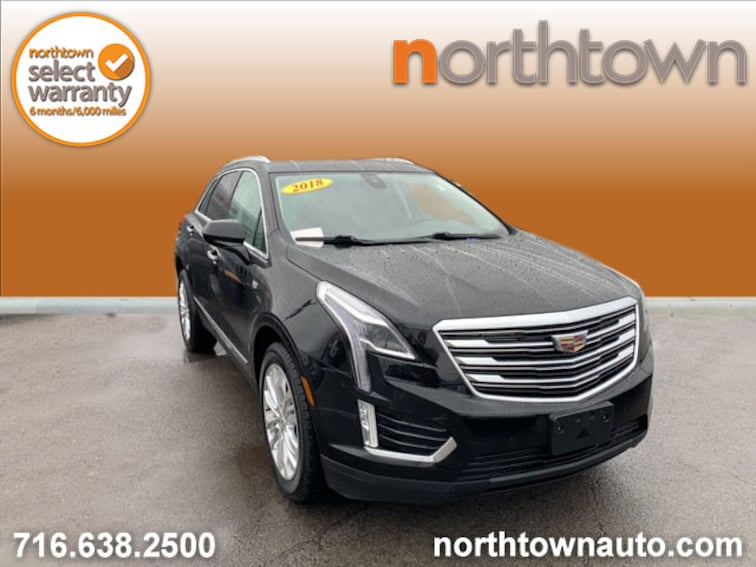 Used 2018 CADILLAC XT5 Premium Luxury SUV DR598 for sale in Amherst, NY