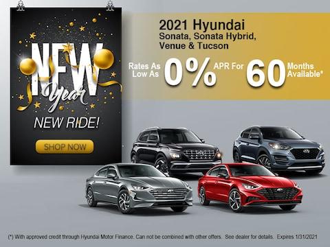 2021 Hyundai Sonata, Sonata Hybrid, Venue & Tucson