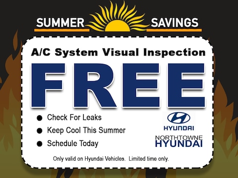 Free A/C System Visual Inspection