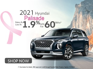 2021 Hyundai Palisade: Rates as low as 1.9% APR for 60Mths!