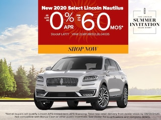 2020 Lincoln Nautilus Reserve: 0% APR for 60 Months!