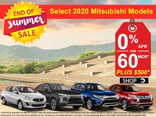 New 2020 Mitsubishi