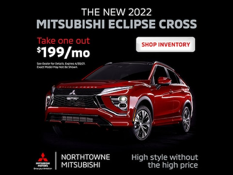ALL NEW 2022 Mitsubishi Eclipse Cross - Purchase for $199/Month*
