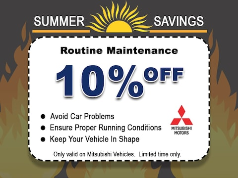 Routine Maintenance Service Special