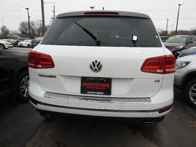 Used 2016 Volkswagen Touareg For Sale at Northtowne Volkswagen   VIN