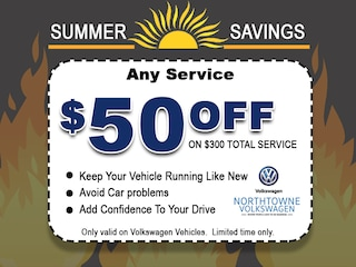 $50 off service of $300 or more