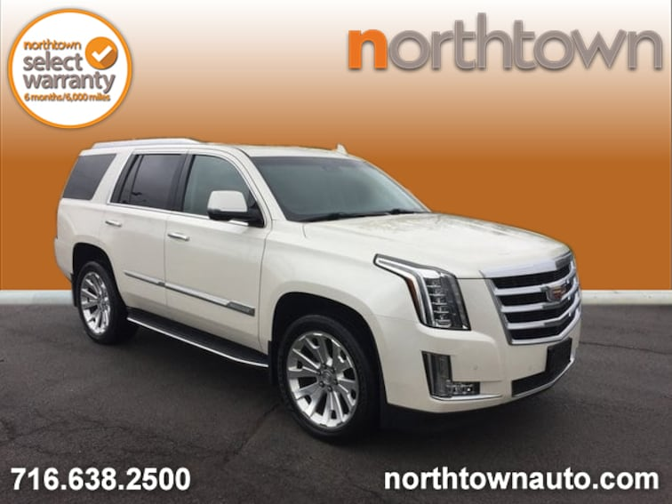 Used 2015 Cadillac Escalade Luxury SUV 19E135A for sale in Amherst, NY