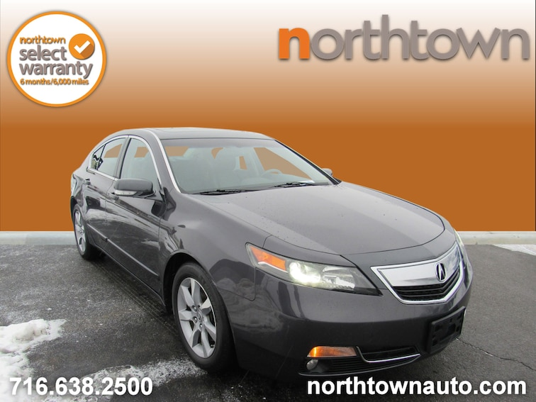 Used 2012 Acura TL with Technology Package Sedan 19L177A for sale in Amherst, NY