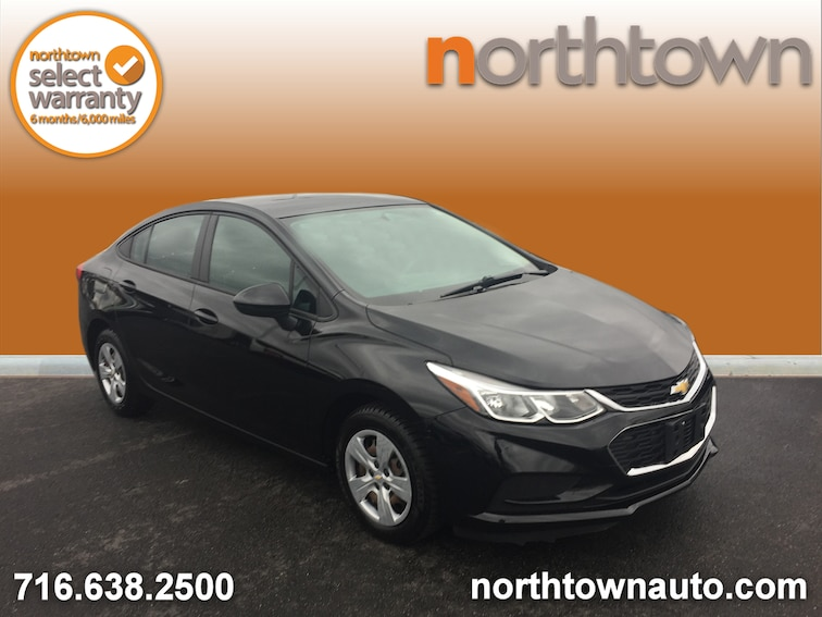 Used 2017 Chevrolet Cruze LS Manual Transmission Sedan SP1415A for sale in Amherst, NY