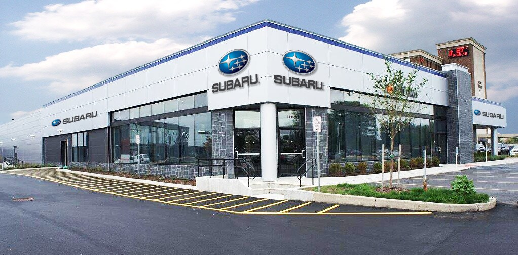 Subaru Signature Facility A State Of The Art Subaru Dealership