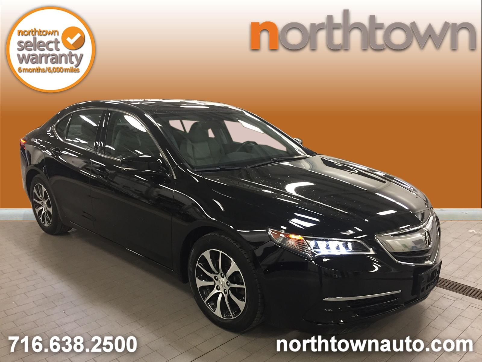 2015 Acura TLX Tech Package, Navigation Sedan
