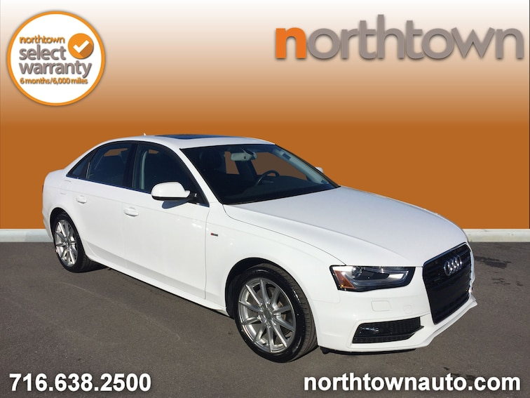 Used 2016 Audi A4 2.0T S-Line, Navigation Sedan 19S1288A for sale in Amherst, NY