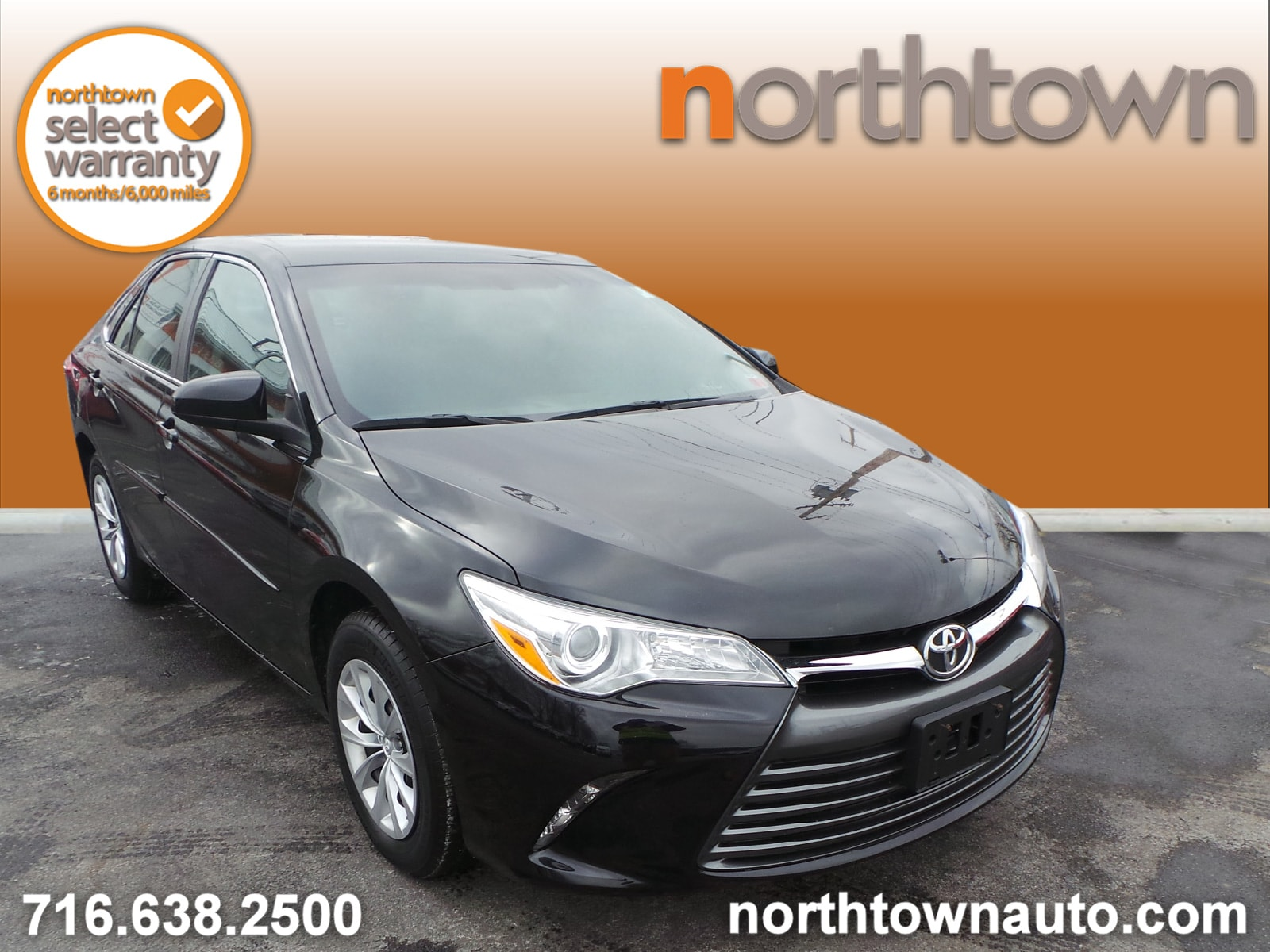 Pre-Owned 2016 Toyota Camry LE Sedan Williamsville, NY