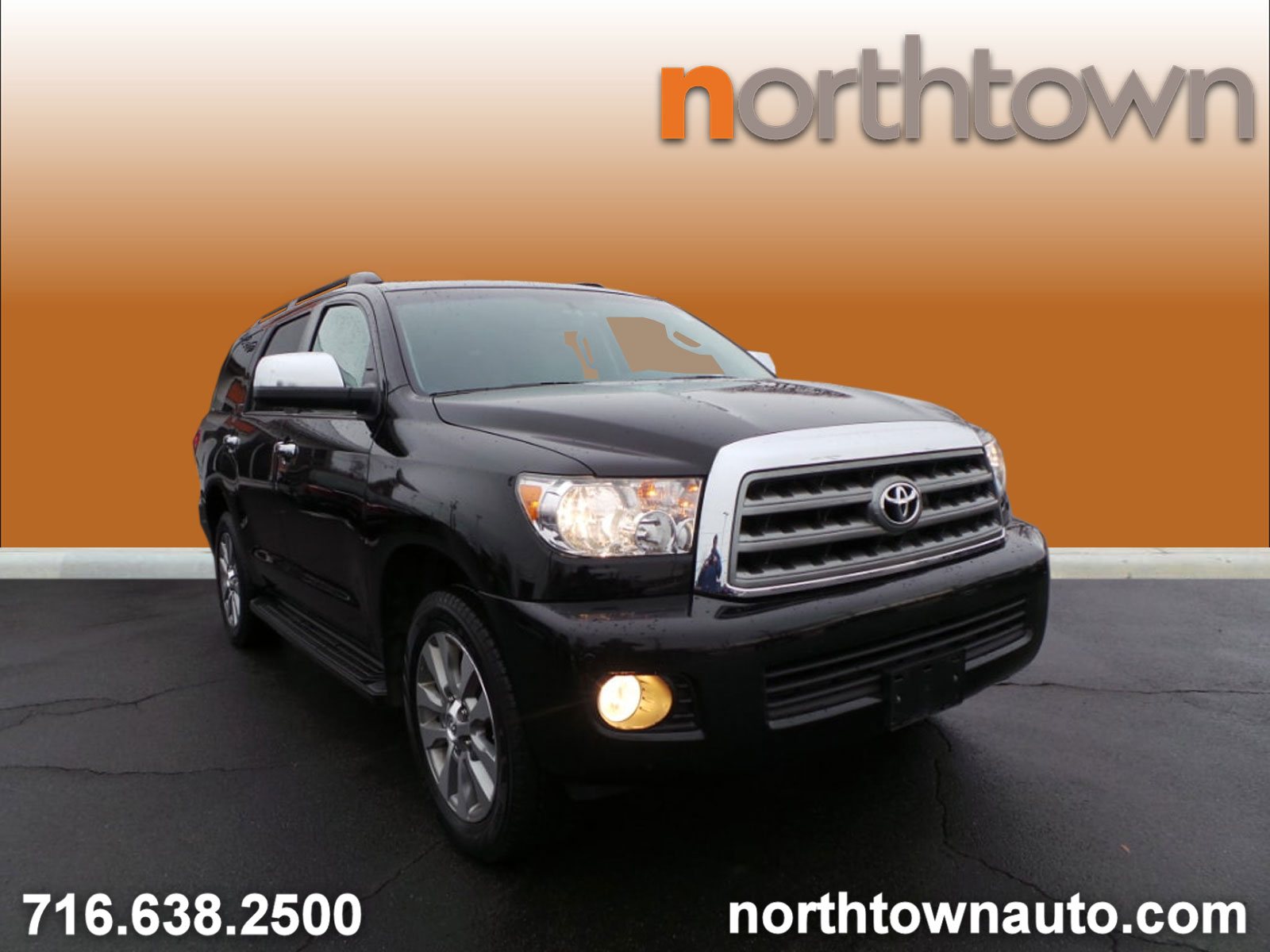 2015 Toyota Sequoia Limited V8 4WD SUV