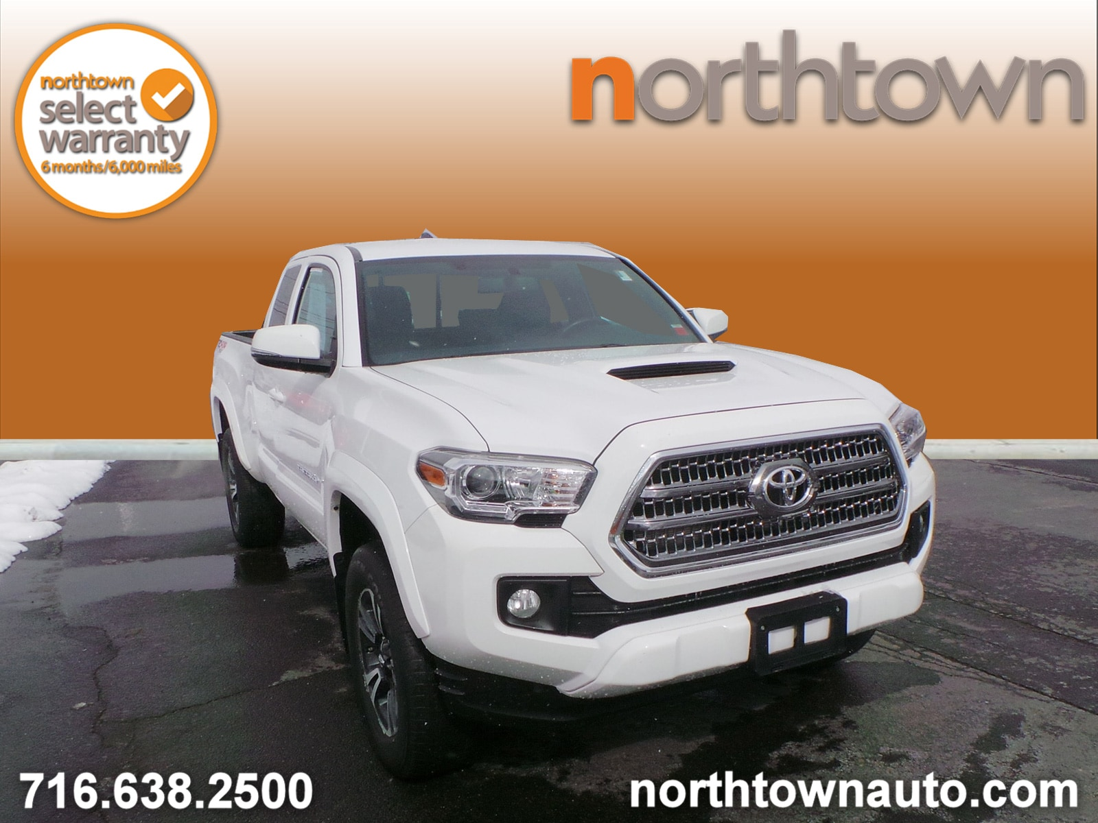2016 Toyota Tacoma TRD Sport 4WD Truck Access Cab