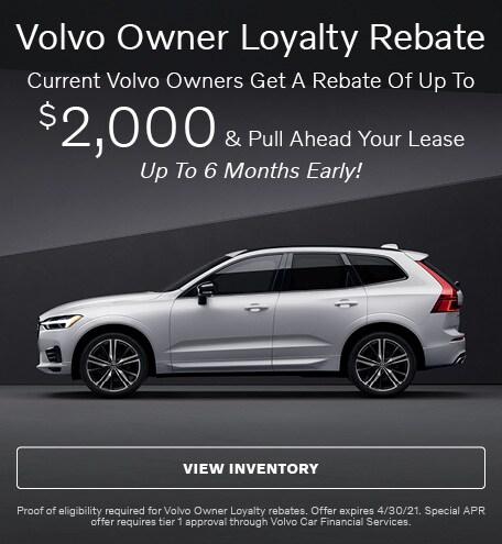 Volvo Owner Loyalty Rebate