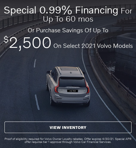 Special 0.99% Financing For Up To 60 mos