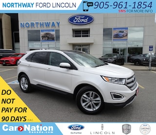 2016 Ford Edge SEL   NAV   HTD LEATHER   PANOROOF   PUSH START   SUV