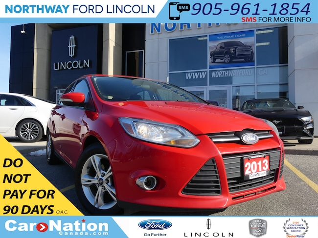 Used Race Red 2013 Ford Focus Used Car For Sale Burlington