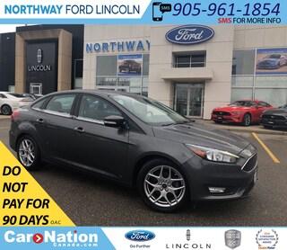 2015 Ford Focus SE | SYNC | ALLOY WHEELS | SE PLUS PACK 201A Sedan