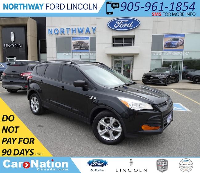 Ford Escape Backup Camera >> Used Black 2014 Ford Escape For Sale Burlington Car Nation Canada